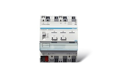 TXA662AN KNX Universal-Dimmaktor, 2-fach, 2x 300 W, mit easy und ETS programmierbar