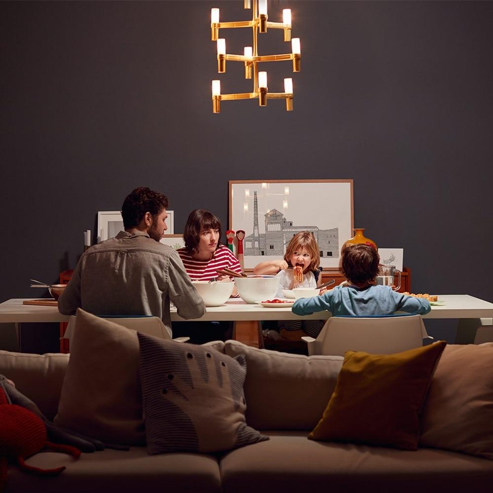 Um das Familienessen zu beleuchten, bleiben seit dem 1. September 2018 nur noch LED-Lampen als Leuchtmittel zur Auswahl.