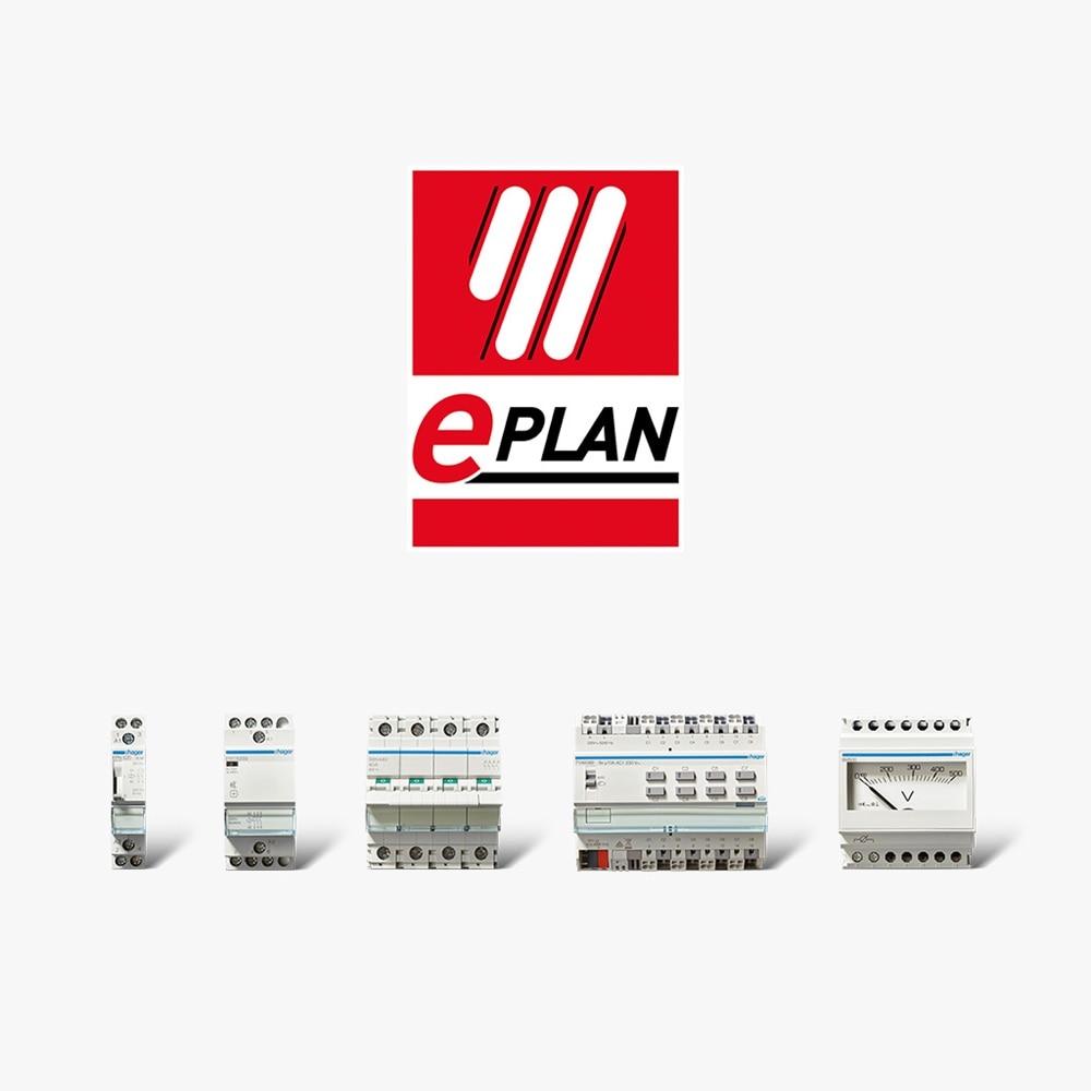 Eine Vielzahl der Hager Geräte sind im EPLAN Dateiformat verfügbar