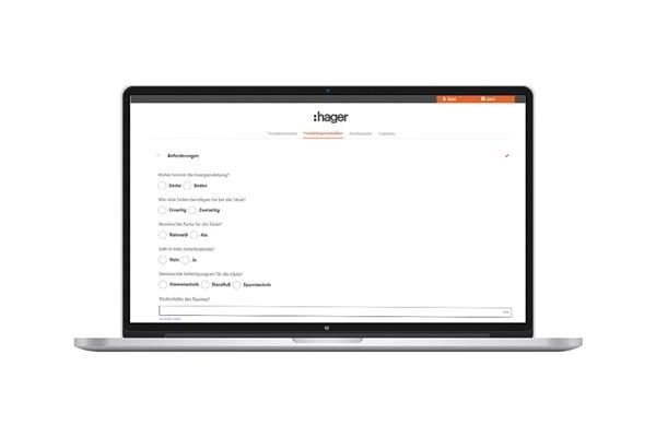 Online-Konfigurator: Produkteigenschaften auswählen