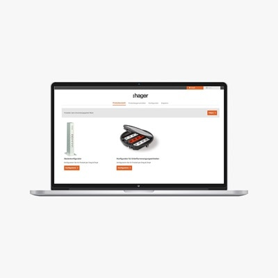 Online-Konfigurator für Unterflurversorgungseinheiten und Decken-/Bodenanschlusssäulen