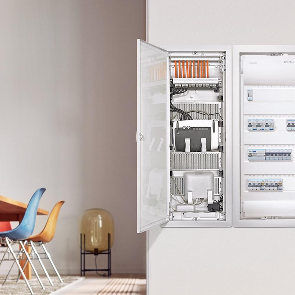Hager Energieverteilung im Mehrfamilienhaus.