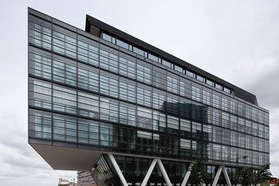 Außenansicht des Bürogebäudes WQ1 in Bremen