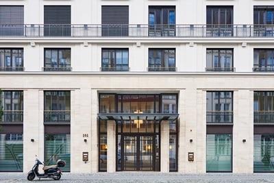 Außenansicht der Charlottenhöfe in Berlin, einer Referenz von Hager