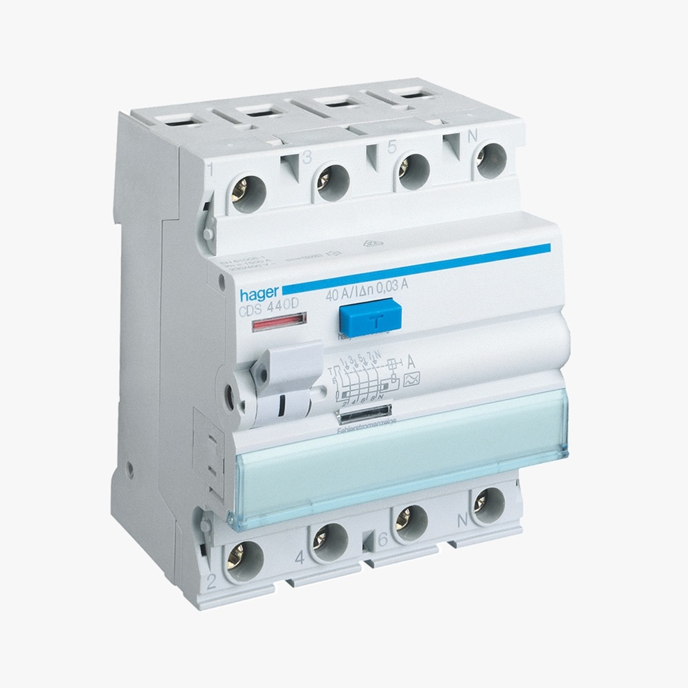 Fehlerstromschutzschalter CDS440D