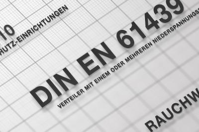 Abbildung von DIN-Normen.