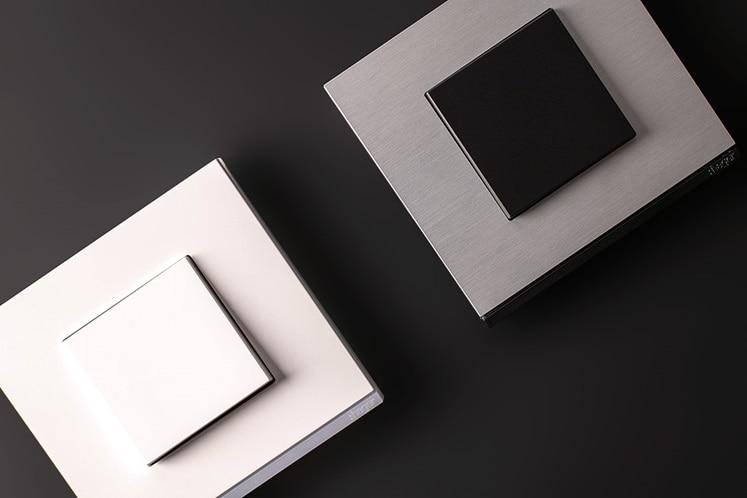 prises et interrupteurs design, appareillage électrique, gallery hager