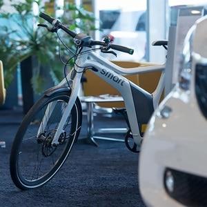 Recharger vélo électrique, borne de charge Hager