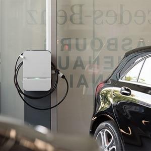 Recharger voiture électrique, borne de charge Hager