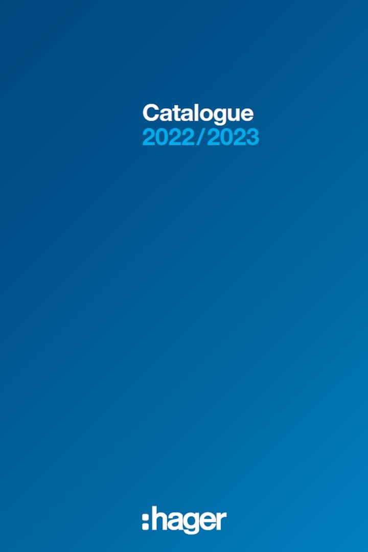 Couverture du catalogue Hager
