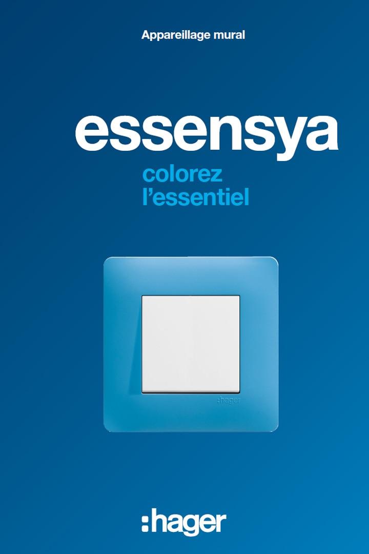 Hager catalogue appareillage essensya