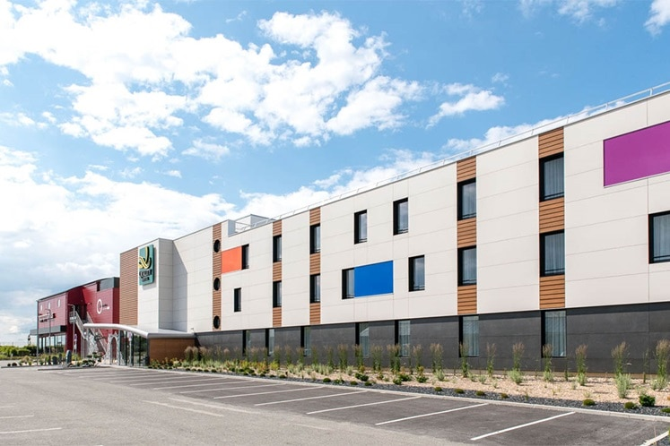 hotel positive place d'amiens, projets tertiaires, solutions hotels