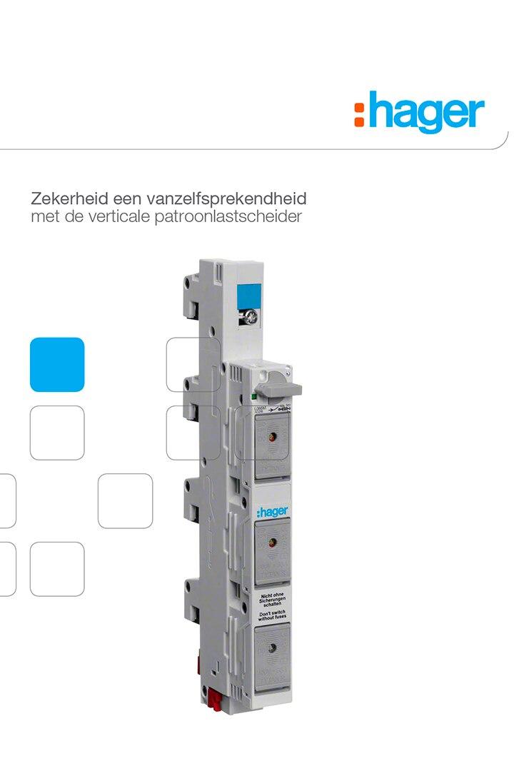 brochure energieverdeling verticale patroonlastscheiders hager 2015