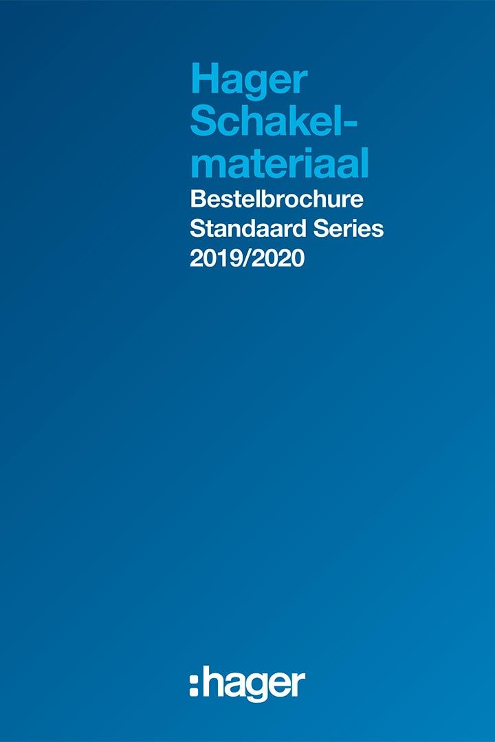 brochure schakelmateriaal berkerdesign standaardseries hager 2019