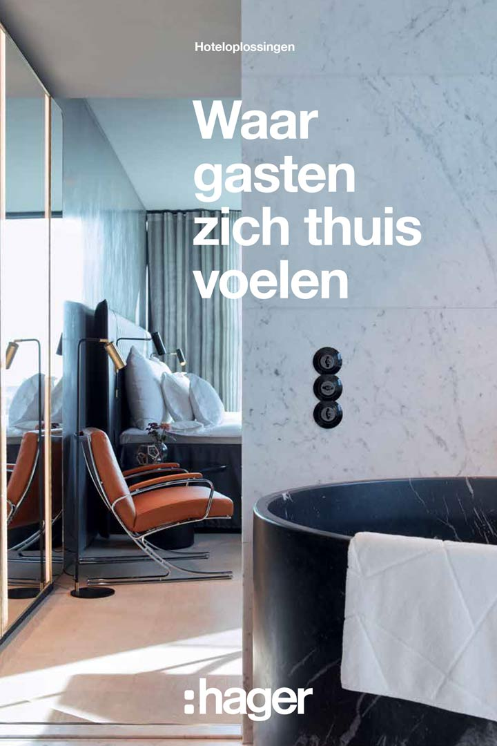 brochure hotel oplossingen hager brochure jun2019