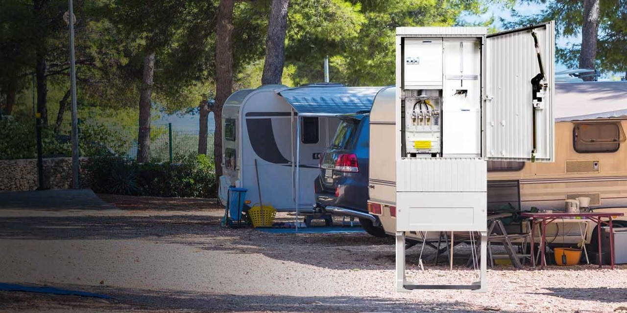 hager product: buitenopstellingskast camping