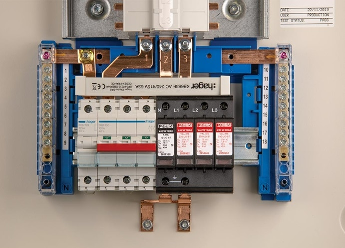 Hager Commercial Surge Protection