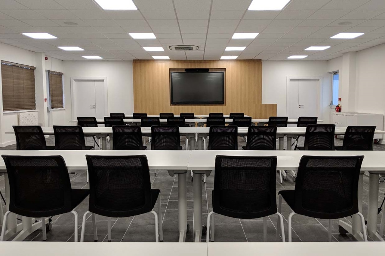 Hager Academy Training Room
