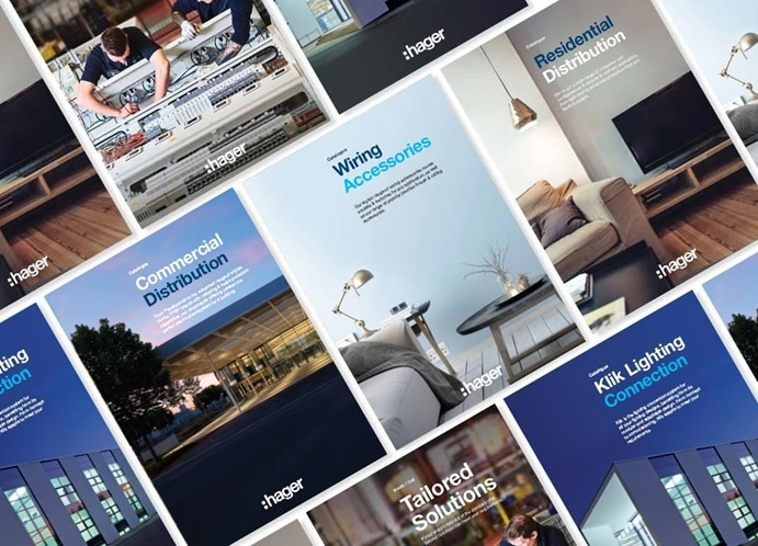 Hager catalogues and brochures