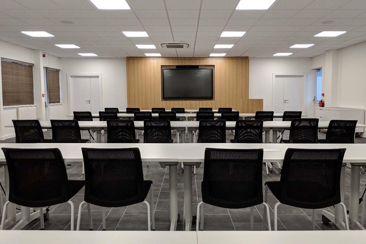Hager Academy Training Room